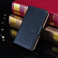 i9100 - For Galaxy S2 Real Genuine Leather Case Wallet Credit Card Holder Stand Flip Magnetic Cover For Samsung I9100