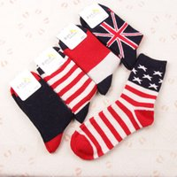 beauty spells - Freeshipping pairs women sale hot new couple flag rabbit wool beauty British fringe spell color thick warm socks