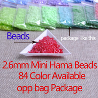 Wholesale colors Available Szie mm Mini Hama Beads Beads Bag Quality Guarantee Perler Beads Activity Fuse Beads