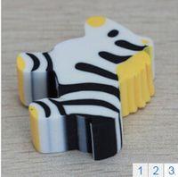 Wholesale Originality Lovely Animal Eraser Office Supplies Eraser