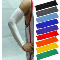 Wholesale Hot Sales Basketball Sports Safety Stretch Arm Sleeve Elbow Pads Wrist Brace Protector Nylon FX303