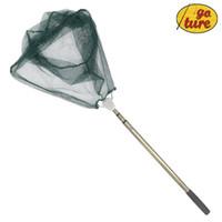 aluminium fishing pliers - Goture Brail Fishing Net In China Aluminium Alloy Folding Landing Net Extending Pole Handle CM