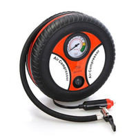 Wholesale 20pcs Mini Portable Car Air Compressor DC v Auto Inflatable Pumps Electric Tire Inflaters psi By Fedex UPS