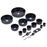 Wholesale High quality Hole Saw Kit Metal Circle Cutter Round Drill Alloy Downlights mm