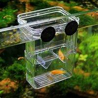 Wholesale Multifunctional Fish Breeding Isolation Box Incubator for Fish Tank Aquarium Accessory Pet Products Aquatic accessories aquario