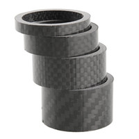 Wholesale Glossy Matte Carbon Fibre Handle Bar Headset Spacers Washers Kit Set quot mm mm mm mm