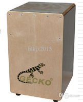 bags jazz - Brand GECKO Child Flamenco Jazz style Birch Wooden Practicing Cajon Box Drum Card hand percussion Bag included