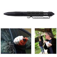 Wholesale Personal Self Defense Tactical Survival Pen Life saving Aviation Aluminum Portable Multi function Outdoor Camping Tool LAIX B2 H15544