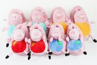 Cheap Peppa Pig Plush Slippers Daddy Mummy George Peppa Pig Family Soft Bottom Cotton Indoor Shoes Trailer Shoes for Children and Audlt PP0038
