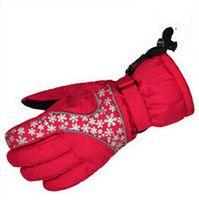 Wholesale Winter ski waterproof preventing wind Professional Sports Gloves keeping warm skidproof motorcycle gloves