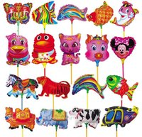 fly rod - BL24 activity rod balloon animal cartoon style children ballon decoration garden wedding fly tinfoilfree shippi