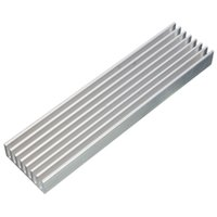 Wholesale Best Price x25x10mm Aluminum Heat Sink Cooling for LED Power I C Circuit Transistor
