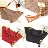 Cheap Women Shoulder Bags Brand designer PU Canvas Bags women Tote messenger Bags Vintage Women leather Handbags Tassel Bolsa Franja