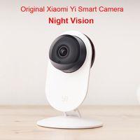 Wholesale 100 Original Xiaomi Yi Smart Camera Xiaoyi ants Smart Webcam IP camera wifi wireless camaras cctv cam Night Vision Edition