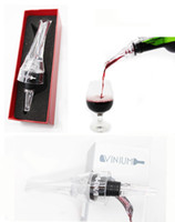 Wholesale Essential Set Quick Aerating Pourer Decanter Red Wine Bottle Mini Travel Aerator