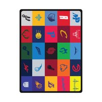 basketball blanket - All Basketball Football Logos Custom Rugs Woolen Throw Fleece Blanket Outdoor Travel Blankets Indoor quot x50 quot