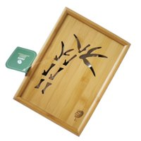 bamboo tongs - Mao Bamboo tea tray Kung Fu with tureen Gong Dao Bei and tea cups and stainless tong and strainer Travel tea set