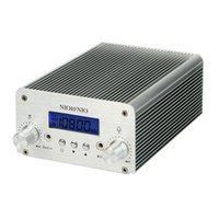 fm radio broadcast transmitter - 5W W PLL FM Transmitter Mini Radio Stereo Station Bluetooth Wireless Broadcast Only Host Y4351D