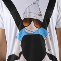 baby bjorn - New Promotion The Hangover Baby Bjorn Posters Funny T Shirt Men Swag Promotion Man T shirt Short Sleeve Top Tees Camisa