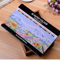 Wholesale Wooden Colored Pencils for Adults Premium Set of Coloring Pencils for All Color Pencil Art Tin Box Packing