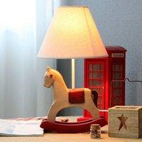 table lamp - Cute Cartoon Trojans Baby Room Desk Lamp Vintage Kid s Bedroom Table Lamps Boy Girl Room Desk Light