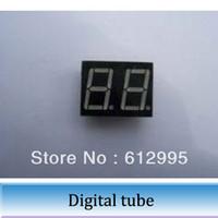Wholesale 100pcs inch bit seven segment digital tube led red cathode