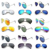 Wholesale Fashion Vintage Eyeglasses Women Men mirror Lenses Polarized Sunglasses for women Eyewear UV Protection Optical Fashion Sun Glasses
