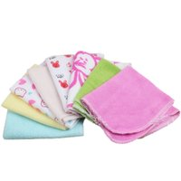 baby wipes pack - 8 Pack Baby Bathing Feeding Wipe Cloth Soft Kids Bath Towel Washcloth Wipe