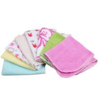 Wholesale 8 Pack Baby Bathing Feeding Wipe Cloth Soft Kids Bath Towel Washcloth Wipe