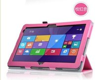 Wholesale For Dell Venue Pro Tablet PC Customized Silk Pattern PU Leather Case Back Skin Cover