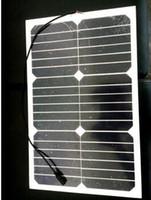 pv solar panel - 18W High efficiency flexible solar pv panel mm thickness