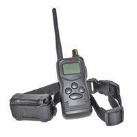 1000m dog shock collar - 1000M BIG LCD Remote Control Dog Training Shock Collar vibration long range For or Dogs
