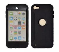 Wholesale For Heavy Duty Full Protection Robot Stylish Shock Proof Hard Silicone Cover Skin Case For iPod Touch