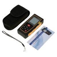 Wholesale Digital Handheld Laser Distance Meter Range Finder Measure Diastimeter m Laser Rangefinders Area Volume Tool