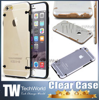 iphone 4 clear case - For Iphone Case Transparent Thin Crystal Clear Hard TPU Case Cover For iPhone S iphone6 Plus For Samsung Galaxy note Clear Case