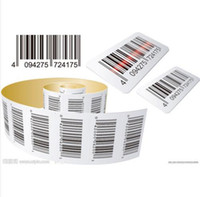 bar coded labels - 800PCS Adhesive Custom Barcode Sticker Bar Code Price Label Printing Customize Merchandise Stickers Commission Labels Commodity Paper