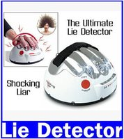 Wholesale Piece Polygraph Shocking Liar Electric Shock Lie Detector Truth Game new original
