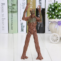 action figure packaging - Movie Guardians of the Galaxy CM Groot Action Figure Doll PVC Toy Opp Package
