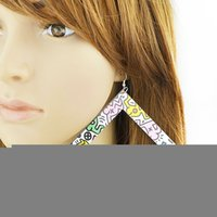 big earrings - Big Square Acrylic Punk Style Statement Drop Earrings New Fashion Designer Brincos for Women