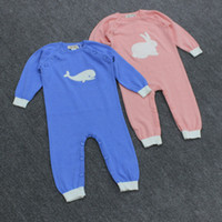 Wholesale Auro Mesa Brand Autumn Fashion One Piece Clothing Toddlers Long Sleeve Jumpsuit Baby Onesies Knitting Romper