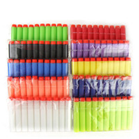 Wholesale of PC cm NERF N Strike Darts set for Hasbro Child Gun Toys foam Bullet Refill dart Soft Bullet