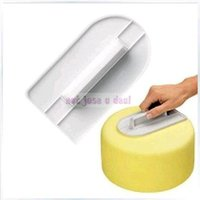 bakers chocolate - NEw Plastic Fondant Sugar Paste Cake Chocolate Decorating Icing Smoother Baker Polisher Finisher Tools Kitchen Accessories