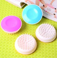 bath and beauty - pet dog and cat Comfortable massage bath brush Beauty cleaning comb Easy to carry Bristles Pet Supplies