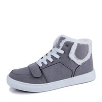 Wholesale New winter with velvet lining shoes shoes men warm shoes
