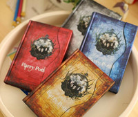 Wholesale Harry Potter Vintage Retro Magic Diary Bookds Hard Cover Note Book Notepad Agenda styles