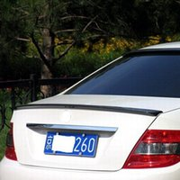 Wholesale Car Styling ABS Material Rear Spoiler For Mercedes Benz W204 High Quality Auto Decoration Accessories
