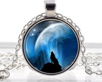 animal necklaces - Arctic White Wolf Necklace Silver Fantasy Jewelry Polar Pendant Animal Gifts