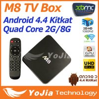 Cheap Quad Core Android TV BOX 4.4 Best Included 2096x2304 & 3840x2160 Ultra HD XBMC TV Box