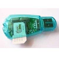Wholesale Computer peripheral accessories mobile phone sim card reader sim card reader shirupozhu card reader