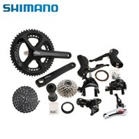 Wholesale 2015 SHIMANO Road Bike Groupset x11 speed T mm Black Shimano Crankset Bottom Bracket Rear Derailleur Cassette